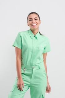 Scrub Army Feminino - Verde