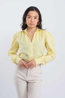 Camisa Fresh - Amarelo Manteiga