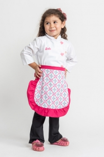 Mini Dólmã Barbie Chef Feminino