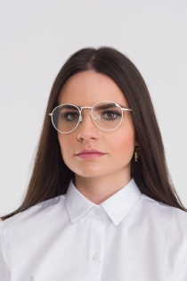 Armação para Óculos Donna - Branco