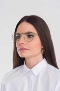 Armação para Óculos Donna - Prateado