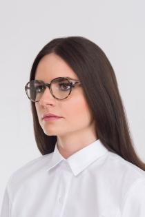 Armação para Óculos Claire - Animal Print Rosê