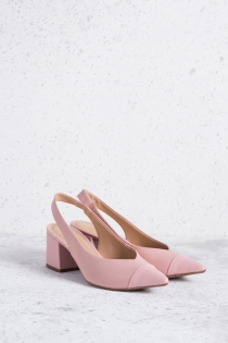 Scarpin Cherie Chanel Bicolor - Rosa