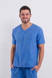Scrub Basic Masculino - Azul Claro