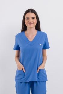 Scrub Basic Feminino - Azul Claro