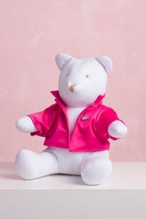 Ursa Charlotte de Jaleco Rosa