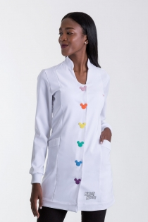 Jaleco Fashion Button Feminino - Branco
