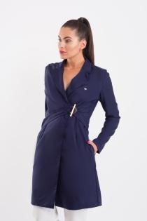Jaleco Chiara Feminino - Azul Marinho