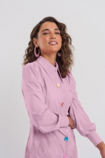 Jaleco Felicity Feminino - Rosa
