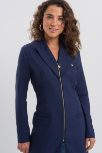 Jaleco Norah Feminino - Azul Marinho