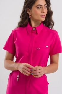 Scrub Army Feminino - Pink