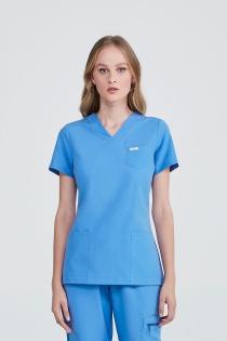 Scrub Doc Feminino - Azul