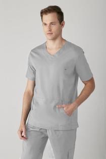 Scrub New Basic Masculino - Cinza