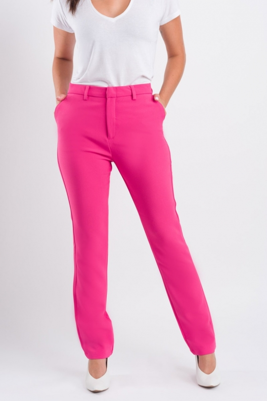Calça Alfaiataria - Pink