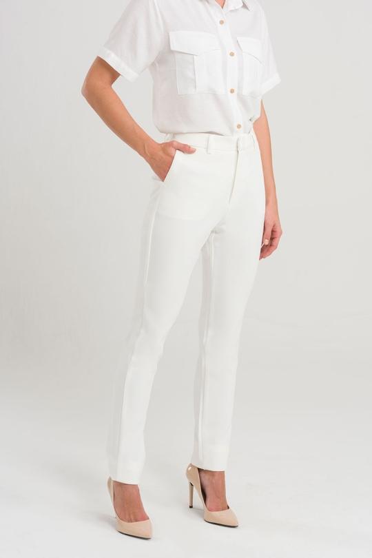 Calça Alfaiataria - Off White