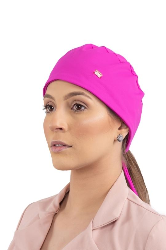 Touca Bandana Veneto Feminina - Pink