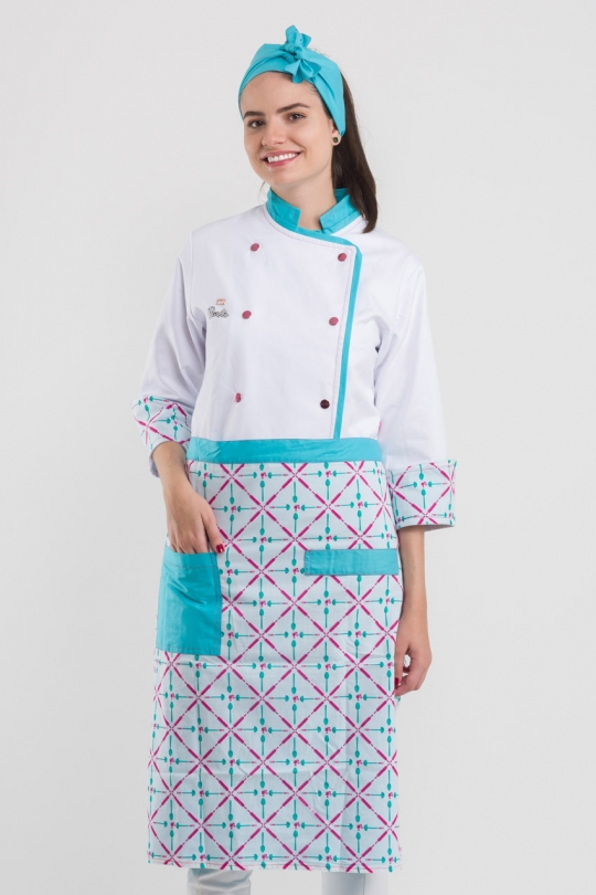 Dólmã Barbie Chef Feminino