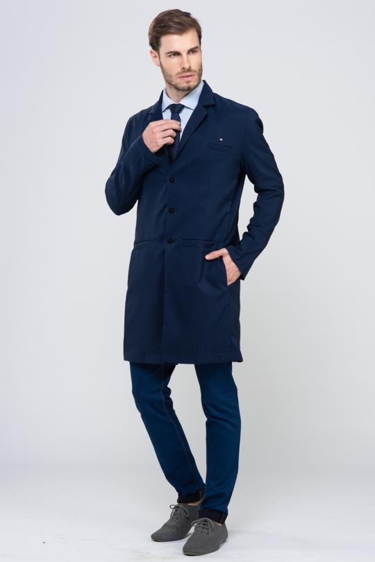 Jaleco Classic Masculino - Azul Marinho