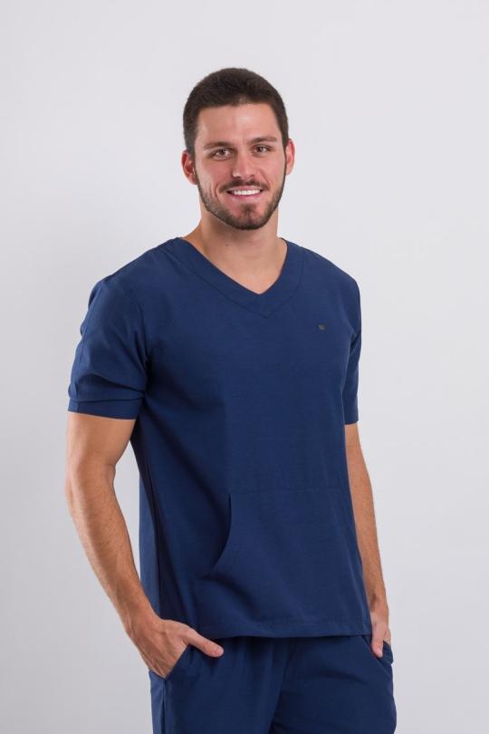 Scrub Basic Masculino - Azul Marinho