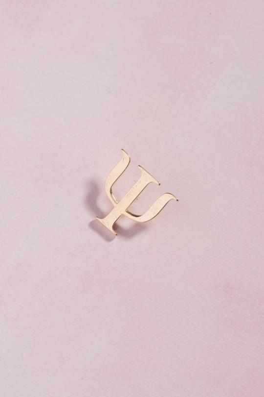 PIN Dourado - Psicologia
