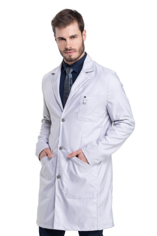 Jaleco Suit Masculino - Cinza
