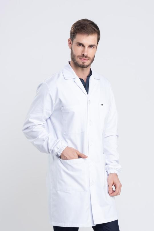 Jaleco Lab Masculino - Branco