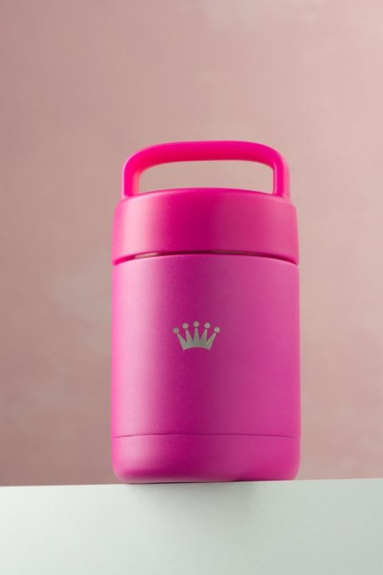 Food Jar Pink as Love