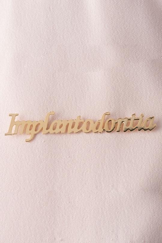 Broche Dourado Implantodontia