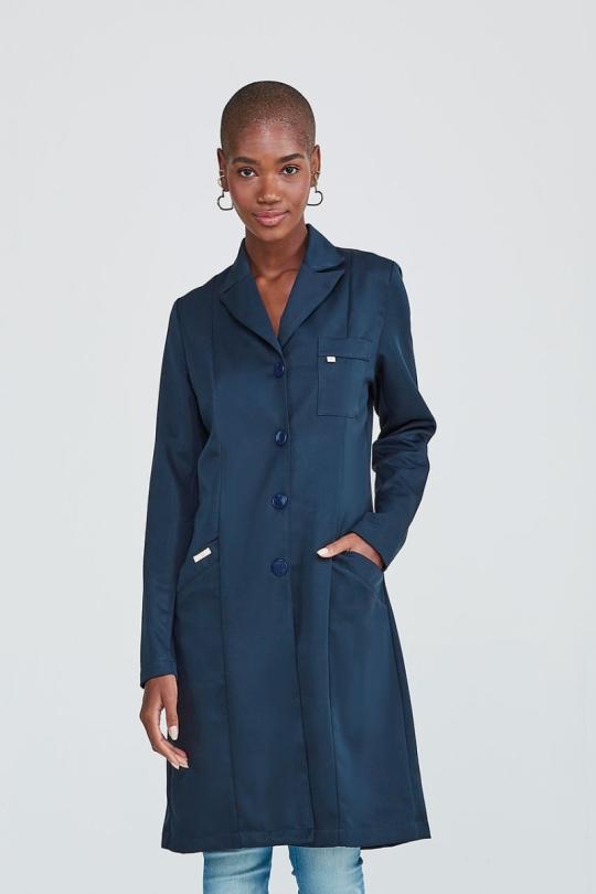 Jaleco Essential Feminino - Azul Marinho