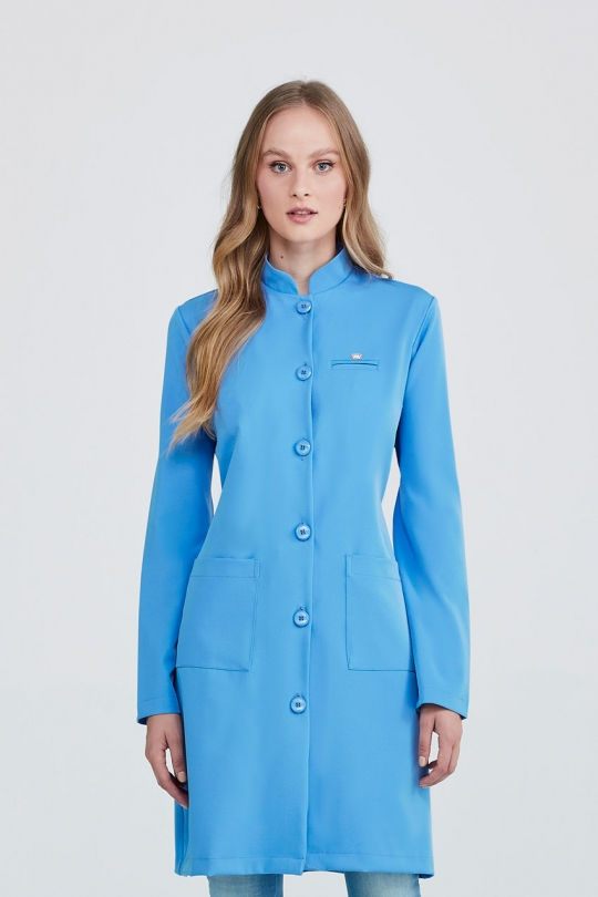 Jaleco Helena Feminino - Azul