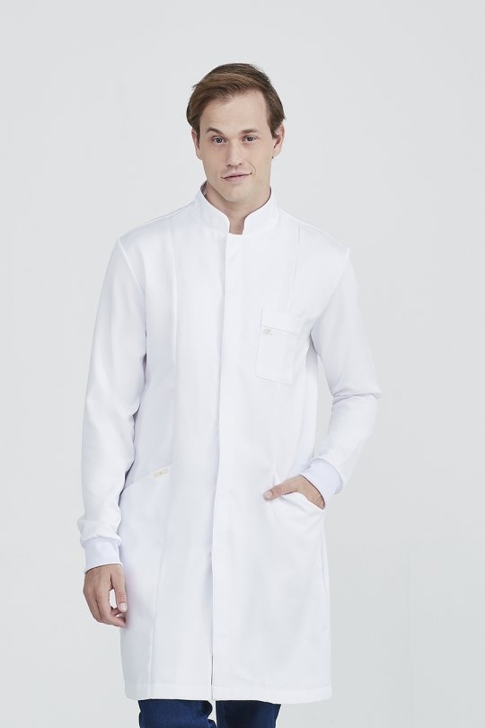 Jaleco Clássico Masculino - Branco