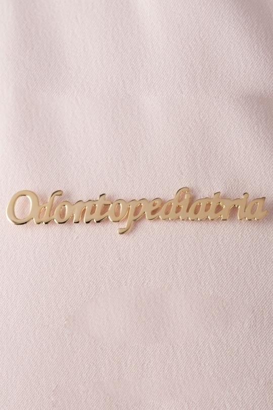 Broche Dourado Odontopediatria