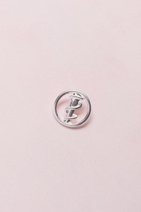 PIN Prata - Odontologia