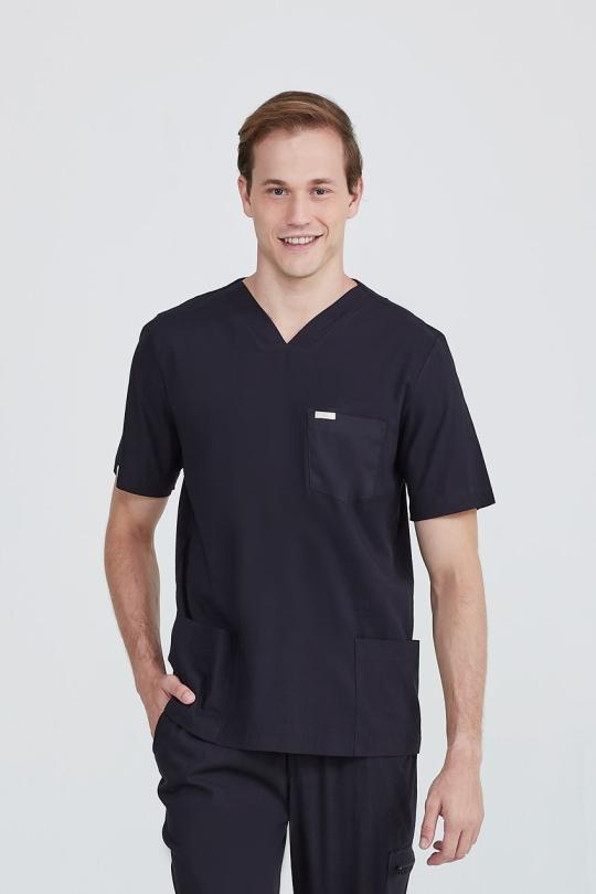 Scrub Doc Masculino - Preto