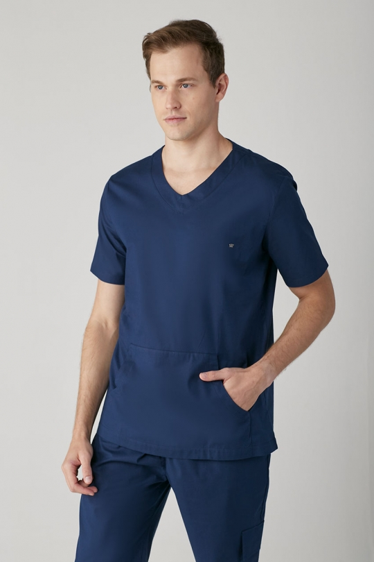 Scrub New Basic Masculino - Azul Marinho
