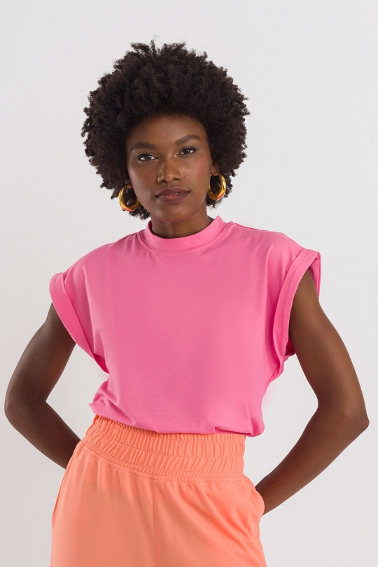 Shirt Muscle Tee - Rosa