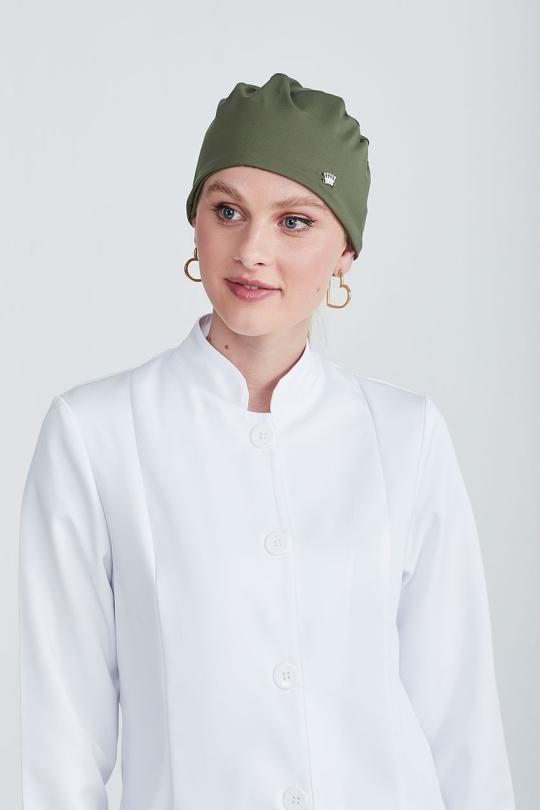Touca Bandana Veneto Feminina - Verde Militar