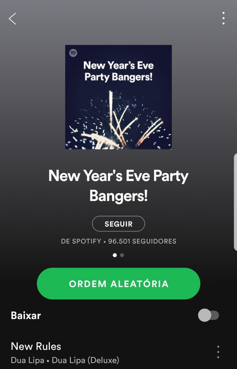 Party Bangers no Spotfy