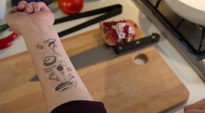 Tatuagem nutrição