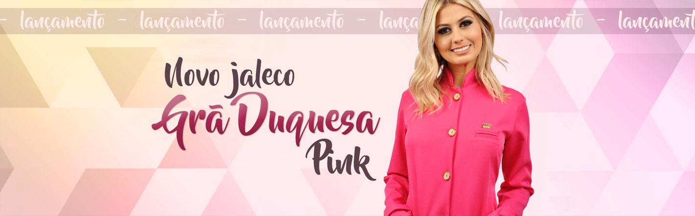 Banner de Lançamento do Jaleco Pink