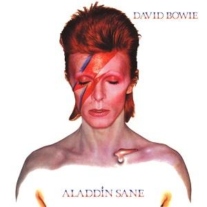 A maquiagem de raio tornou-se ícone de David Bowie.