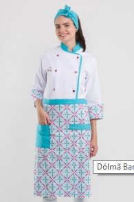 Dólmã Barbie Chef adulto