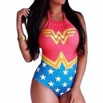 Body de super heróis é tendência para o carnaval.