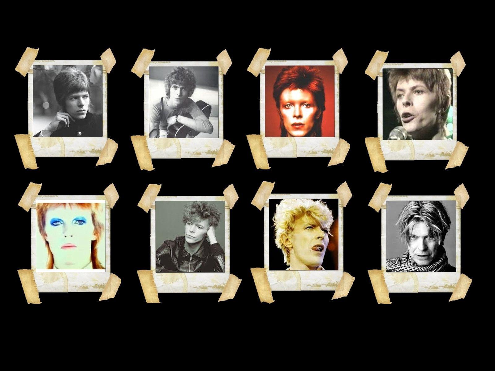 David Bowie foi um ícone da música e da moda.
