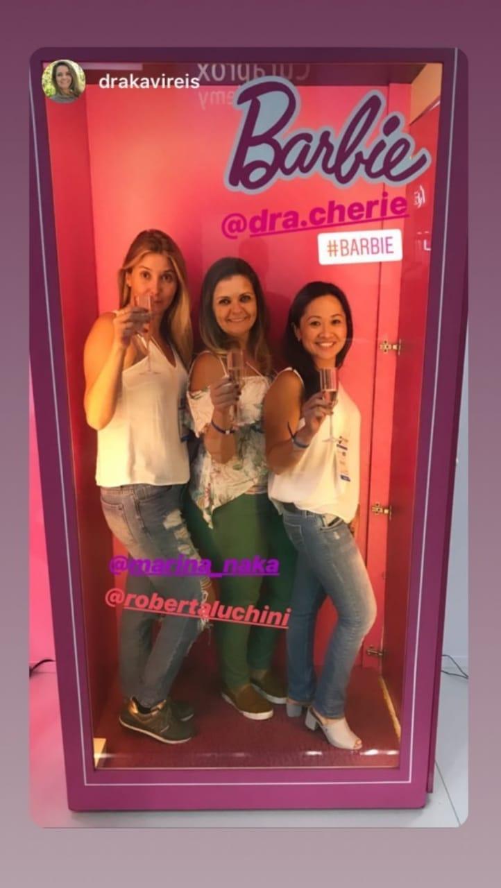 Caixa da Barbie Dra. Cherie no CIOSP