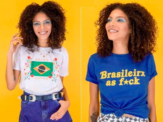 Camisetas Ziovara Brasil