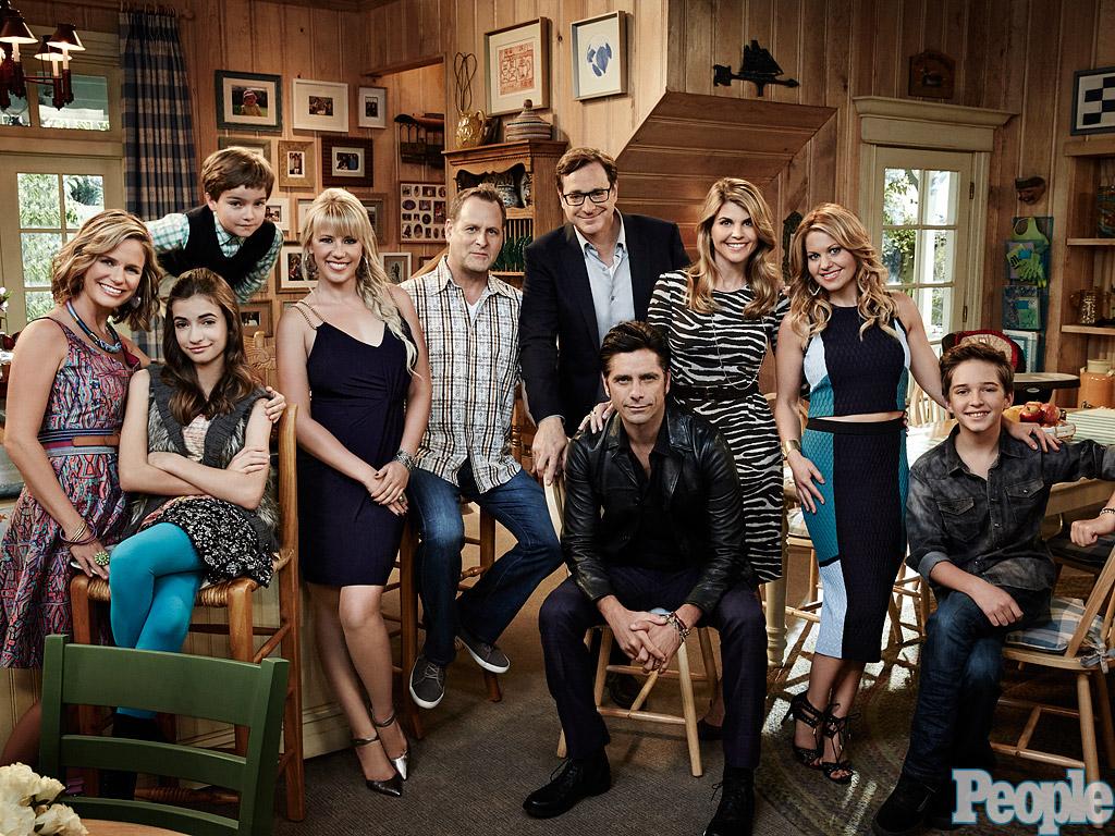 O elenco de Fuller House