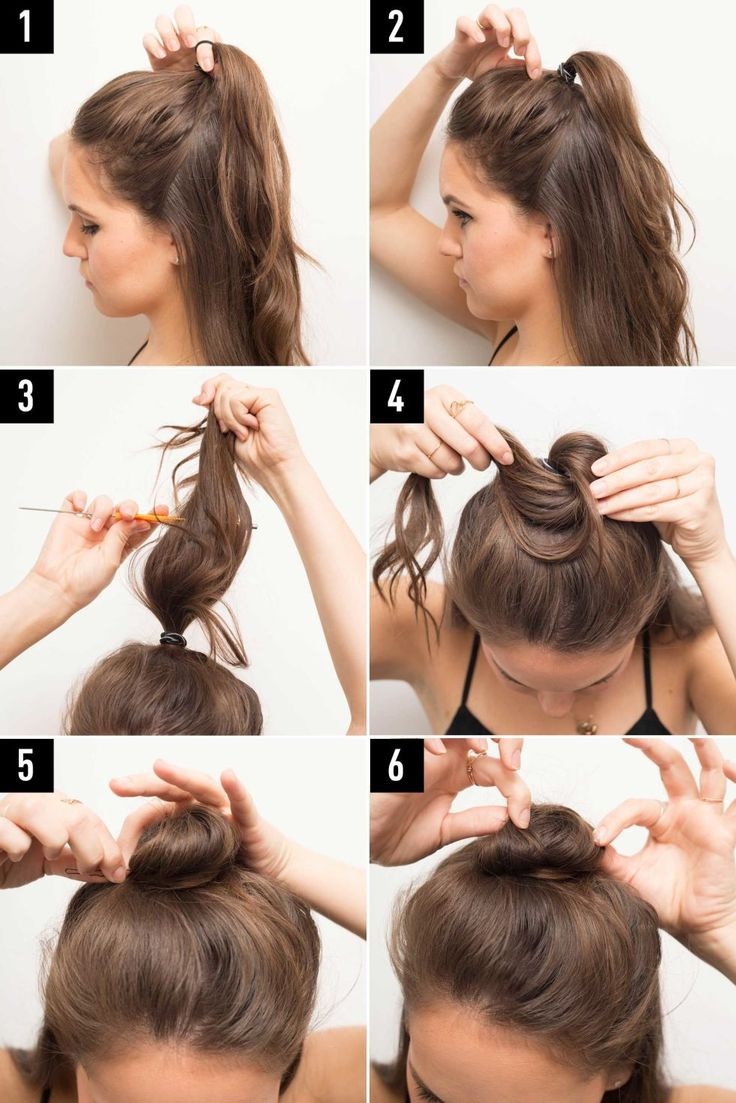 How To - Half Bun