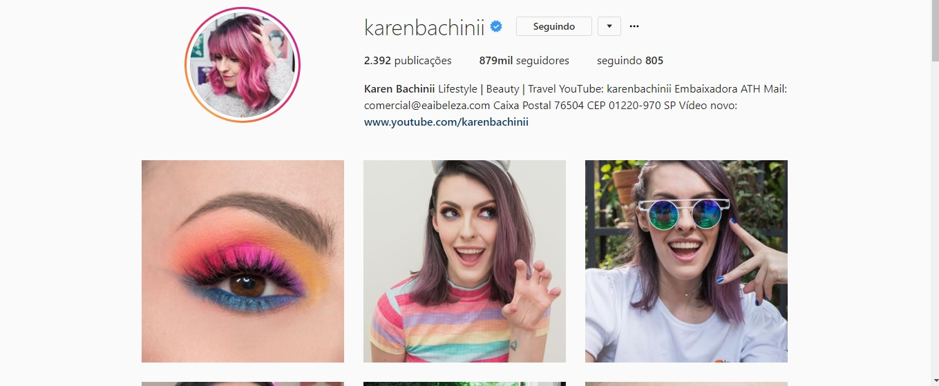 Instagram Karen Bachini