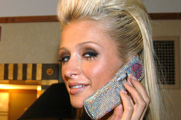 Celular Paris Hilton